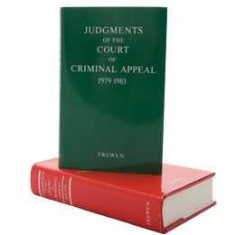 Picture of the Judgments of the Court of Criminal Appeal
